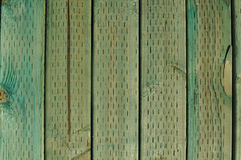 Green Treated Wood Background Royalty Free Stock Images