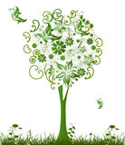 Green_tree Royalty Free Stock Images