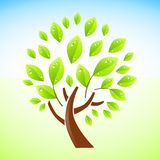 Green Tree Design Royalty Free Stock Images