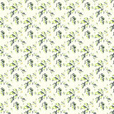 Green tree leaves on a light background seamless pattern vector illustration Stock Photo