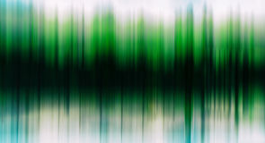 Green trees equalizer horizontal abstraction stock illustration