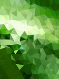 Green triangle abstract background Royalty Free Stock Image