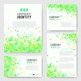 Green triangle Identity-2 Stock Photos