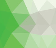 Green triangle. Royalty Free Stock Photography