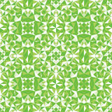 Green triangle texture seamless pattern background Royalty Free Stock Photography