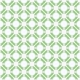 Green tribal ethnic pattern Stock Image
