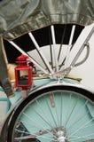 Green Trishaw, Penang, Malaysia Royalty Free Stock Photos