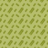 Green tropical leaves in a seamless pattern. Green leaves in a repeating seamless pattern for textile, fabric, backdrops and creative surface designs. gradient vector illustration