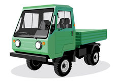 Green truck Royalty Free Stock Photo