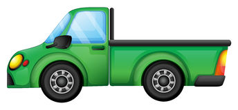 A green truck Royalty Free Stock Photography