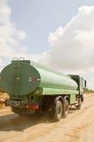 Green truck crane stock photos