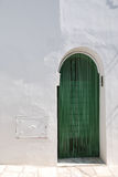 Green Trullo Door Royalty Free Stock Photos
