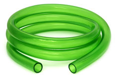 Green Tubing Royalty Free Stock Photography