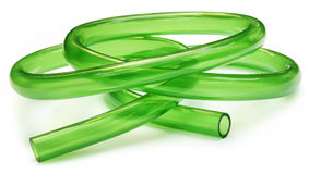 Green Tubing Stock Images