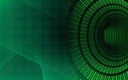 Green tunnel background. Digital illustration of green tunnel background Royalty Free Stock Photo