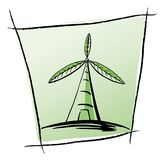 Green Turbine Royalty Free Stock Images