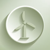 Green turbine Royalty Free Stock Photography