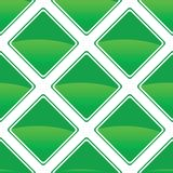 Green turned square pattern Stock Photography