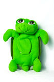 Green turtle toy Royalty Free Stock Image