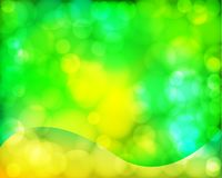 Green twinkle Stock Photography