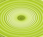 Green Twirl. Abstract green circle design stock illustration