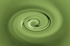 Green twirl Stock Photography
