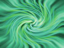 Green twirl background Stock Images