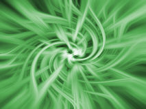 Green twirl background Stock Image