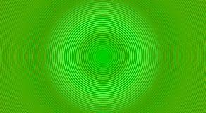 Green twirl circular wave. Royalty Free Stock Image