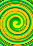 Green twirl circular wave Background. Royalty Free Stock Images