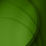 Green twist light lines  background. Royalty Free Stock Photos