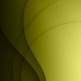 Green twist light lines vector background. Royalty Free Stock Photography