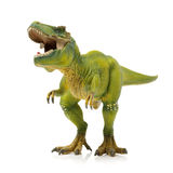 Green tyrannosaurus. On white background Stock Photo