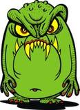 Green ufo alien Stock Photos
