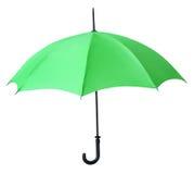 Green umbrella Royalty Free Stock Photo