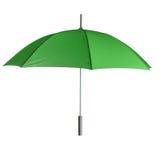 Green umbrella Stock Photography