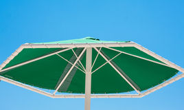 Green umbrella Royalty Free Stock Photography