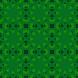 Green universal vector seamless patterns, tiling. Geometric ornaments. Royalty Free Stock Images