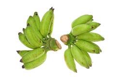 Green Unripe Banana Stock Photos