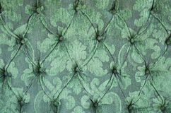 Green Upholstery Background Stock Images