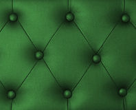 Green upholstery leather background Stock Images
