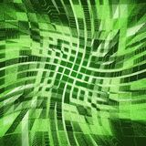 Green urbanism luminous background Royalty Free Stock Images