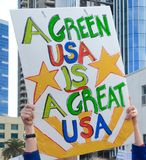 A Green USA Stock Photography