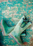 Fisherman boots Royalty Free Stock Image