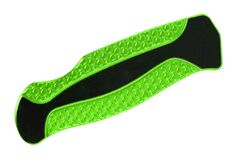 Green Utility Knife Isolated stock photography