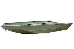 Free Green V-bottom Aluminum John Jon Boat Royalty Free Stock Photography - 41632717