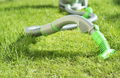 Green vacuum Royalty Free Stock Images