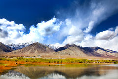 Green valley leh Royalty Free Stock Photo