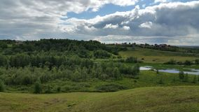 A green valley it north russia Stock Photo