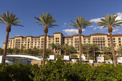 Green Valley Ranch Resort pool area in Las Vegas, NV on August 2 Stock Photography